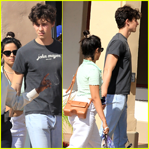 Camila Cabello & Shawn Mendes Enjoy A Day Out At Universal Studios