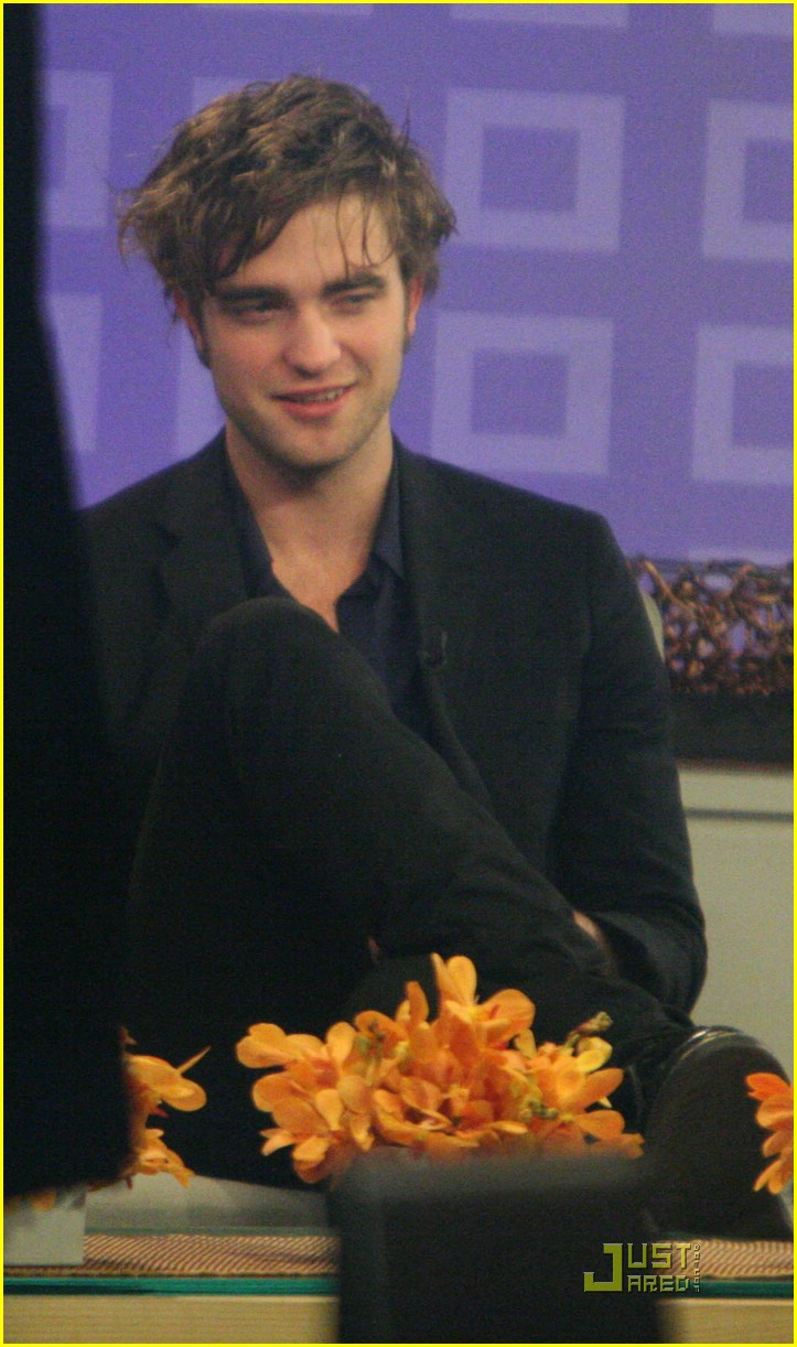 robert pattinson kristen today show 09