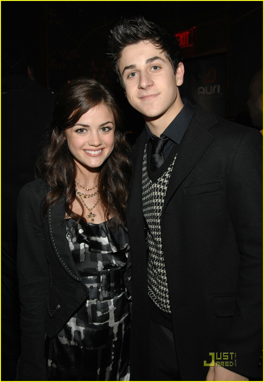 david henrie lucy hale salute hollywood 02