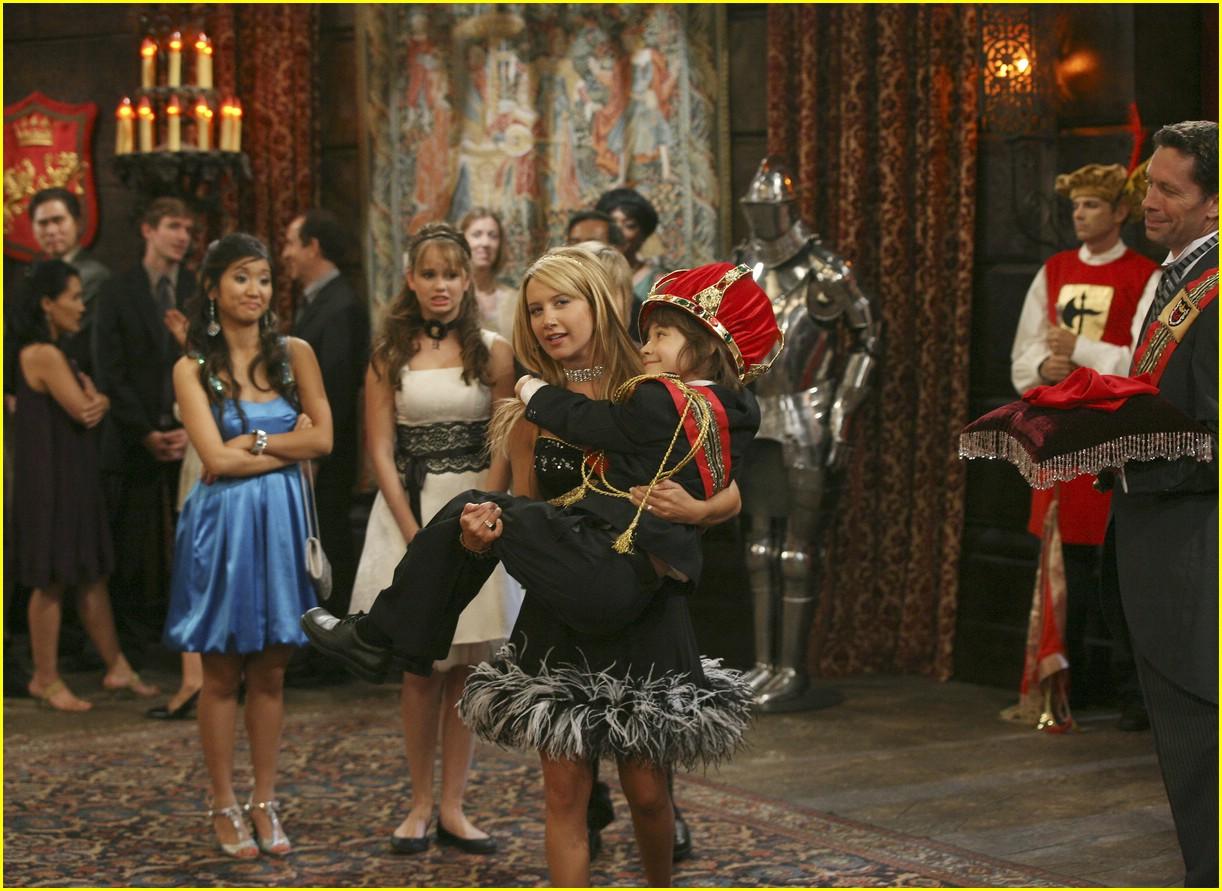 Ashley Tisdale Boards The S.S. Tipton | Photo 34481 ...