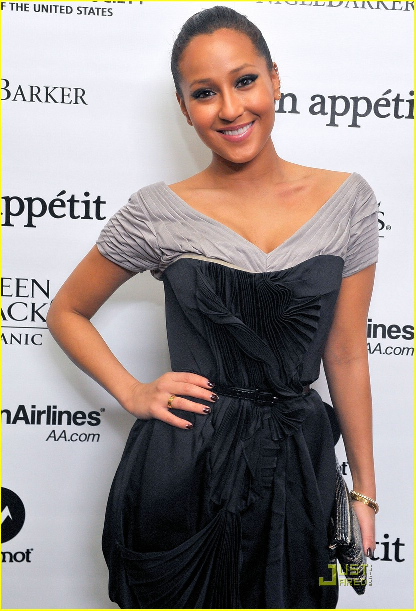 adrienne bailon seal dinner 02