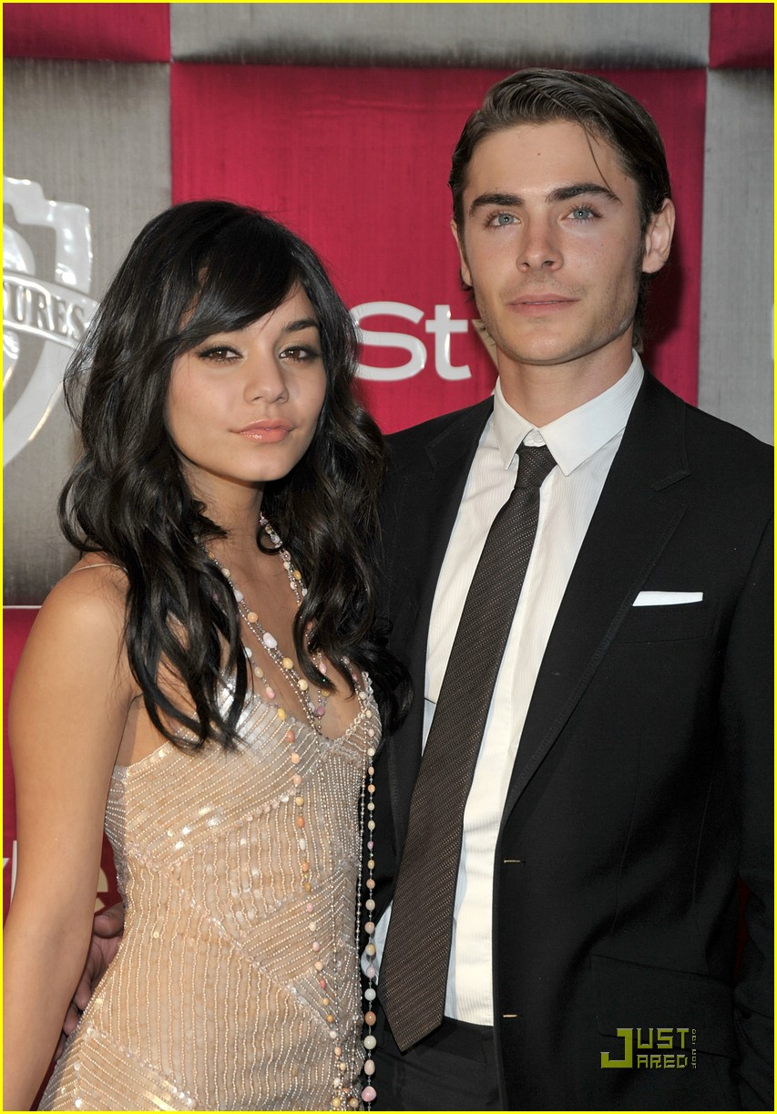 vanessa hudgens zac efron instyle party 04