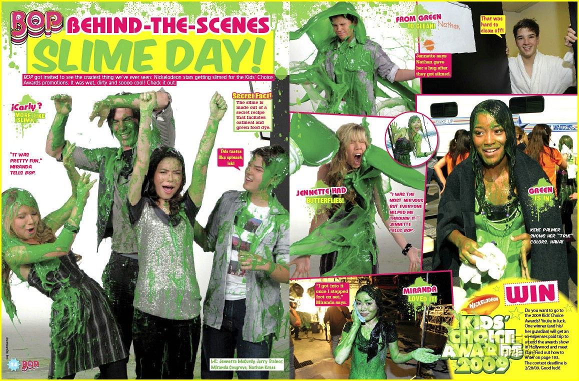 nickelodeon stars slimed 01