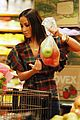Adrienne-grocery adrienne bailon grocery shopping 15