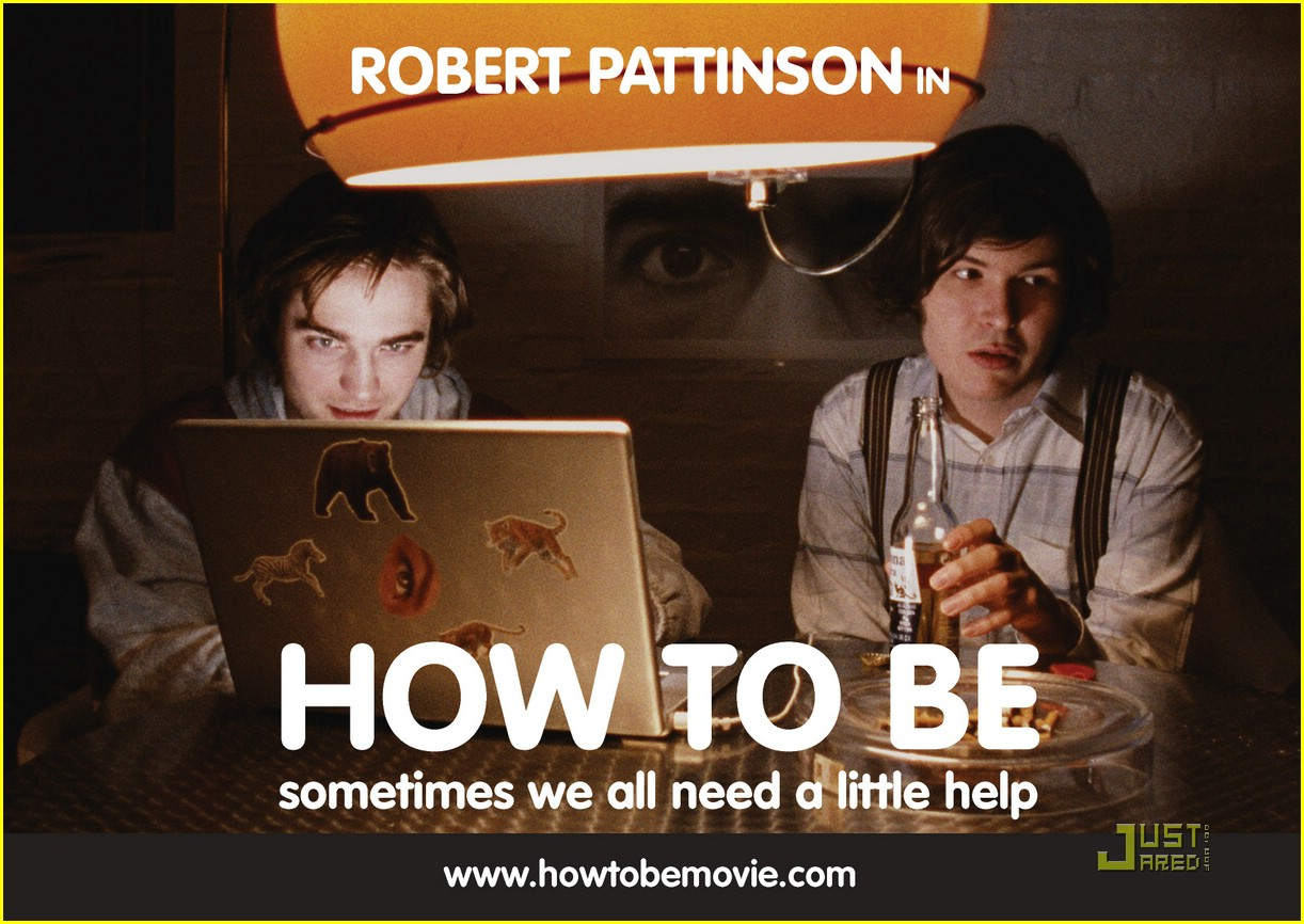 robert pattinson how to be 15