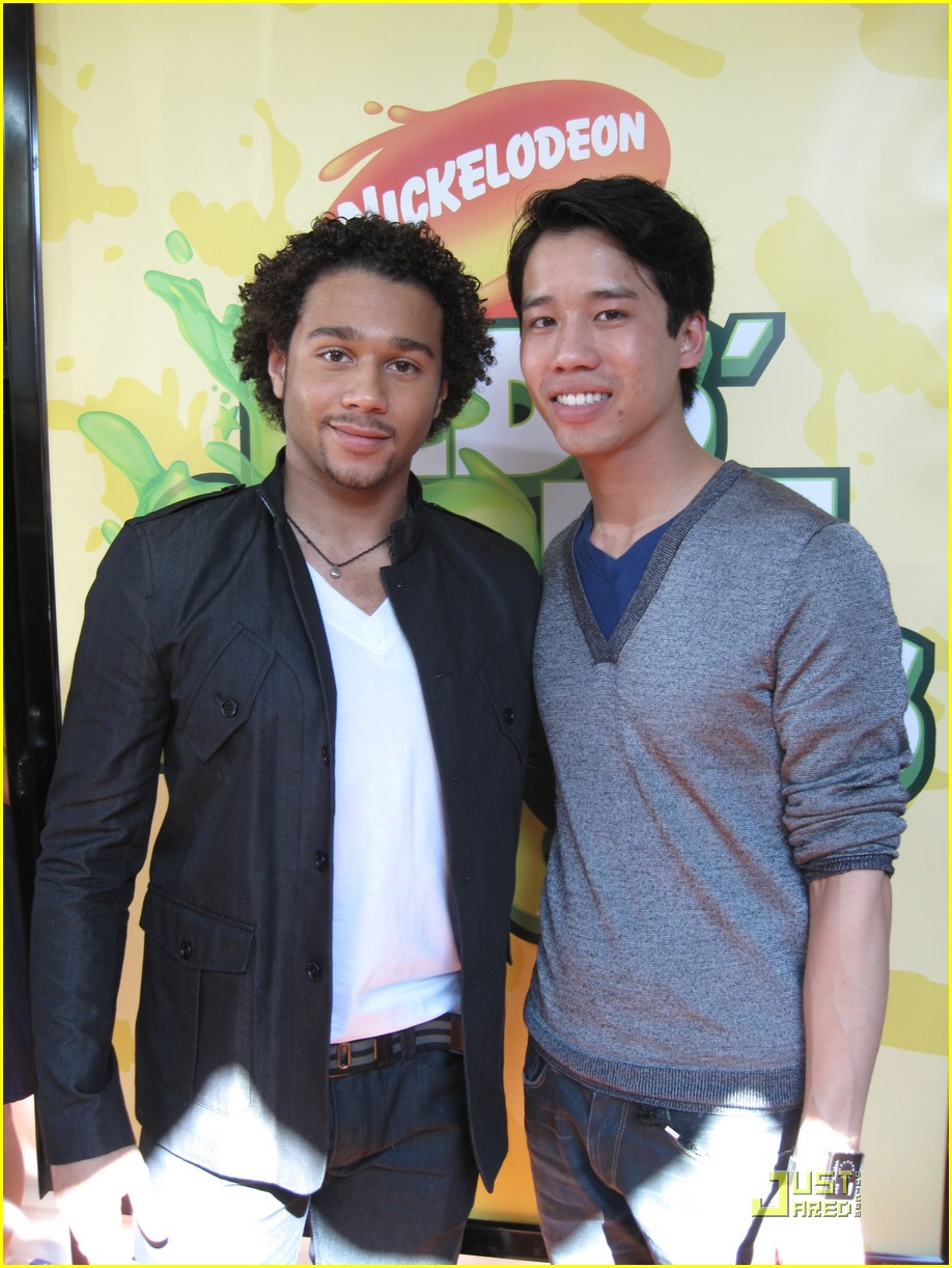 corbin bleu kids choice awards 02