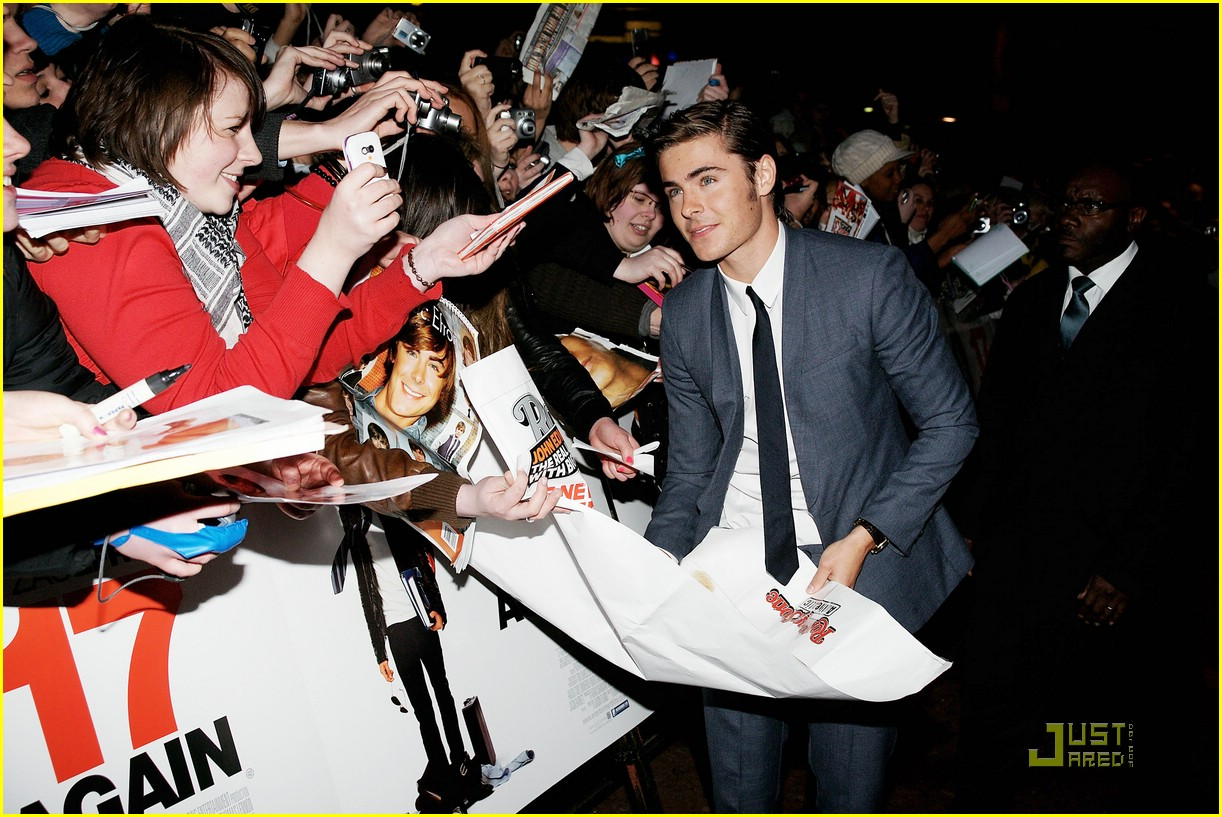 zac efron 17 again london premiere 02