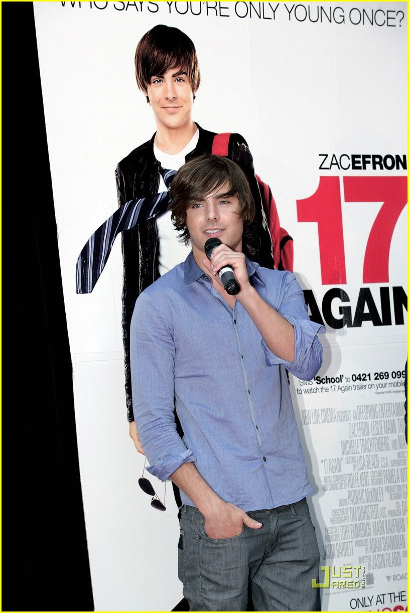 zac efron 17 again melbourne 02