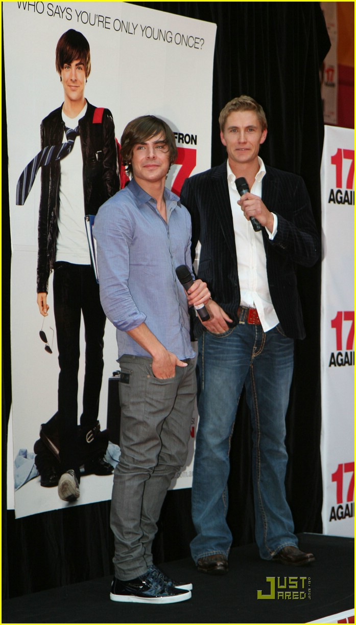 zac efron 17 again melbourne 05