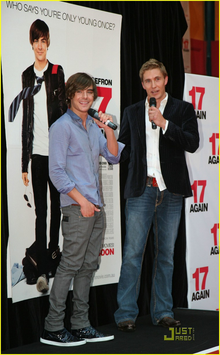 zac efron 17 again melbourne 06