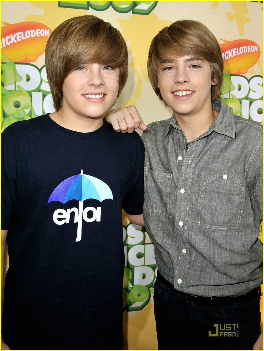 sprouse twins kids choice awards 02