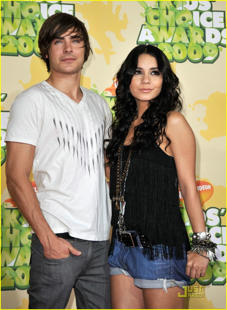 zac efron vanessa hudgens kids choice awards 00