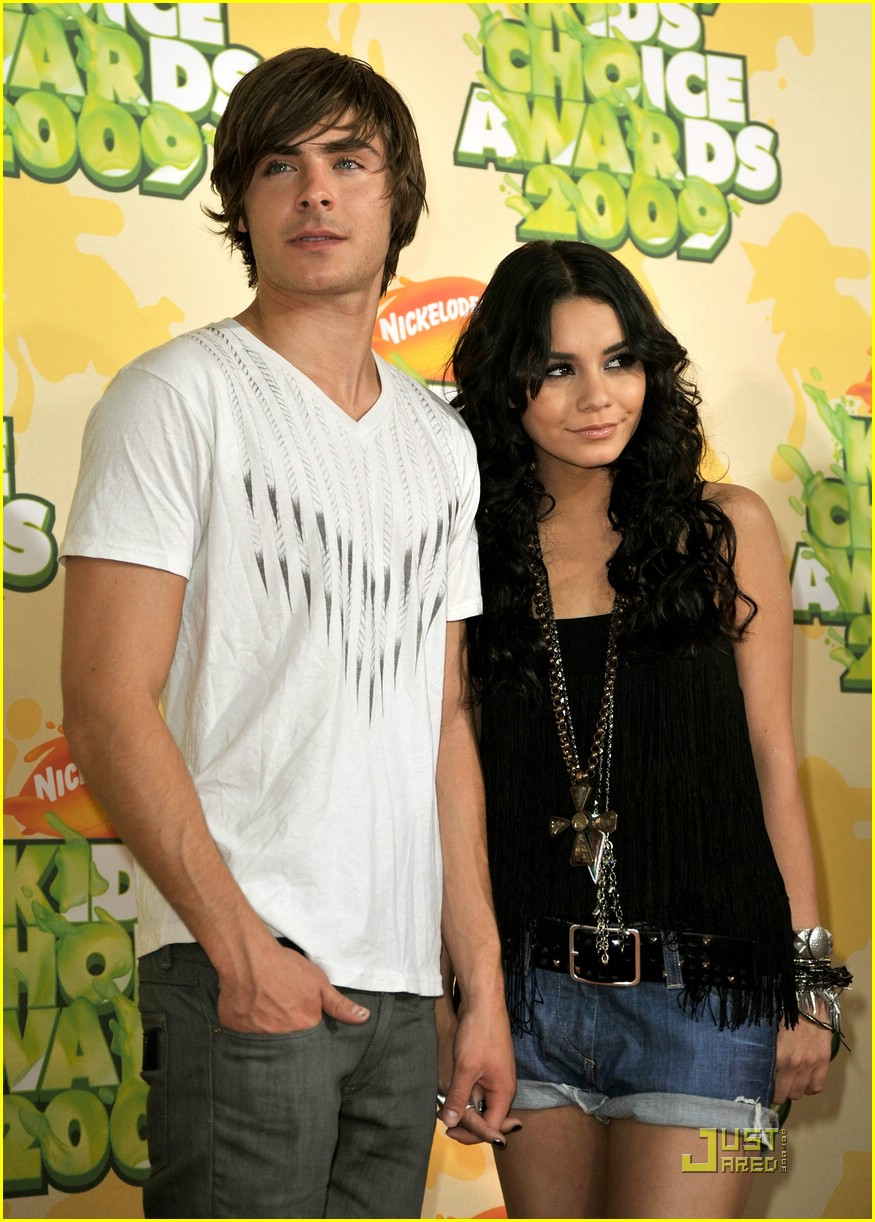 zac efron vanessa hudgens kids choice awards 10