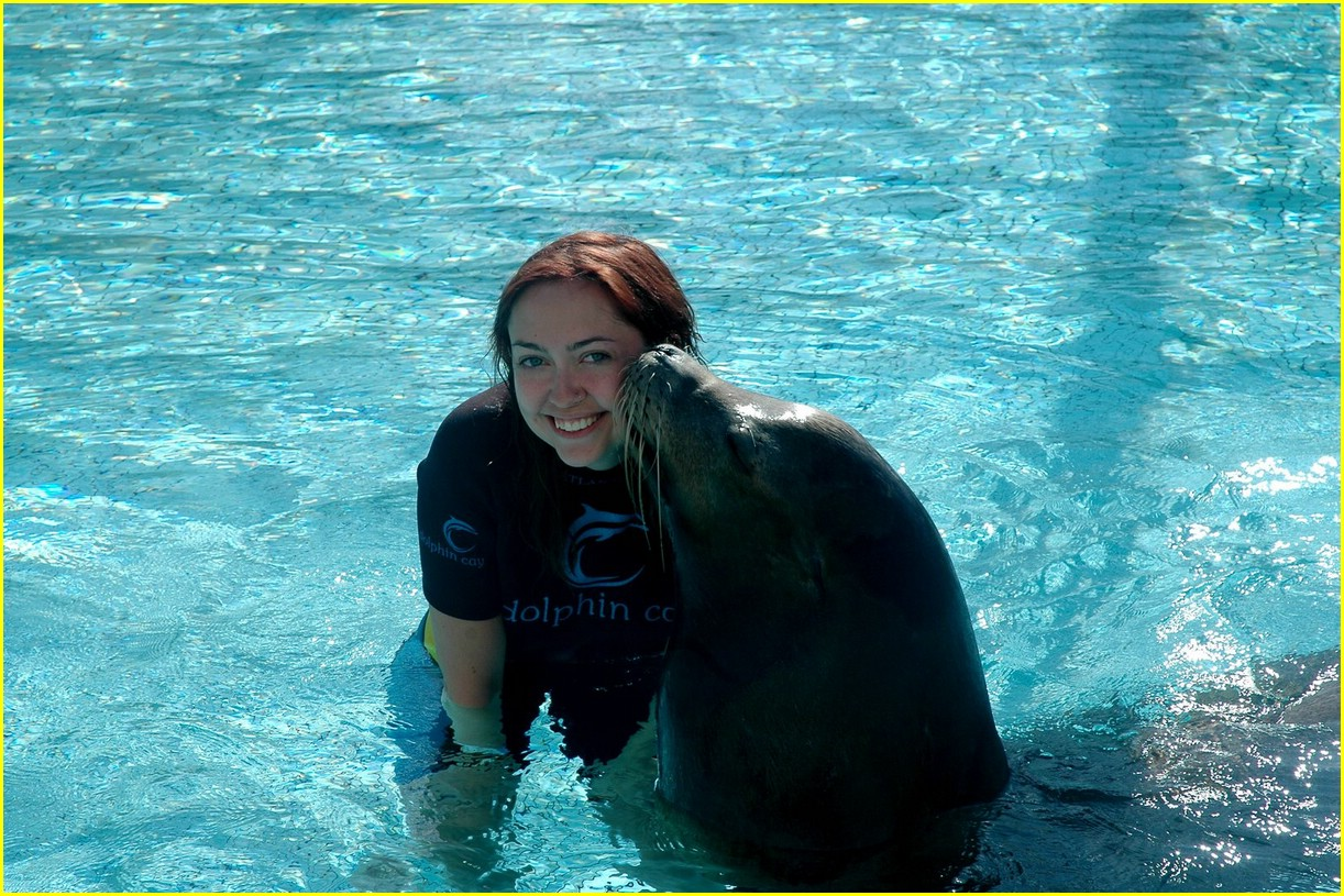 miley cyrus atlantis sea lion 07
