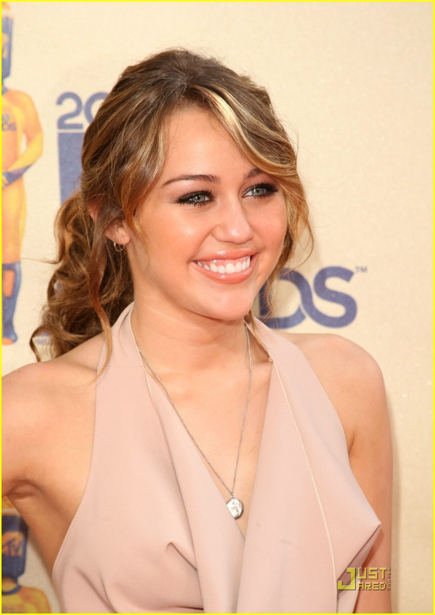 miley cyrus mtv movie awards 08