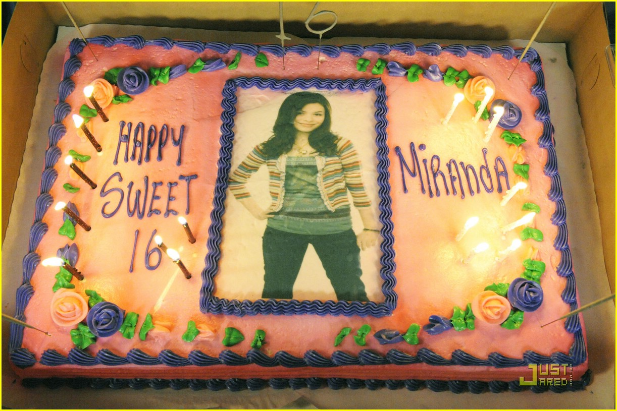 miranda cosgrove icarly cake 03