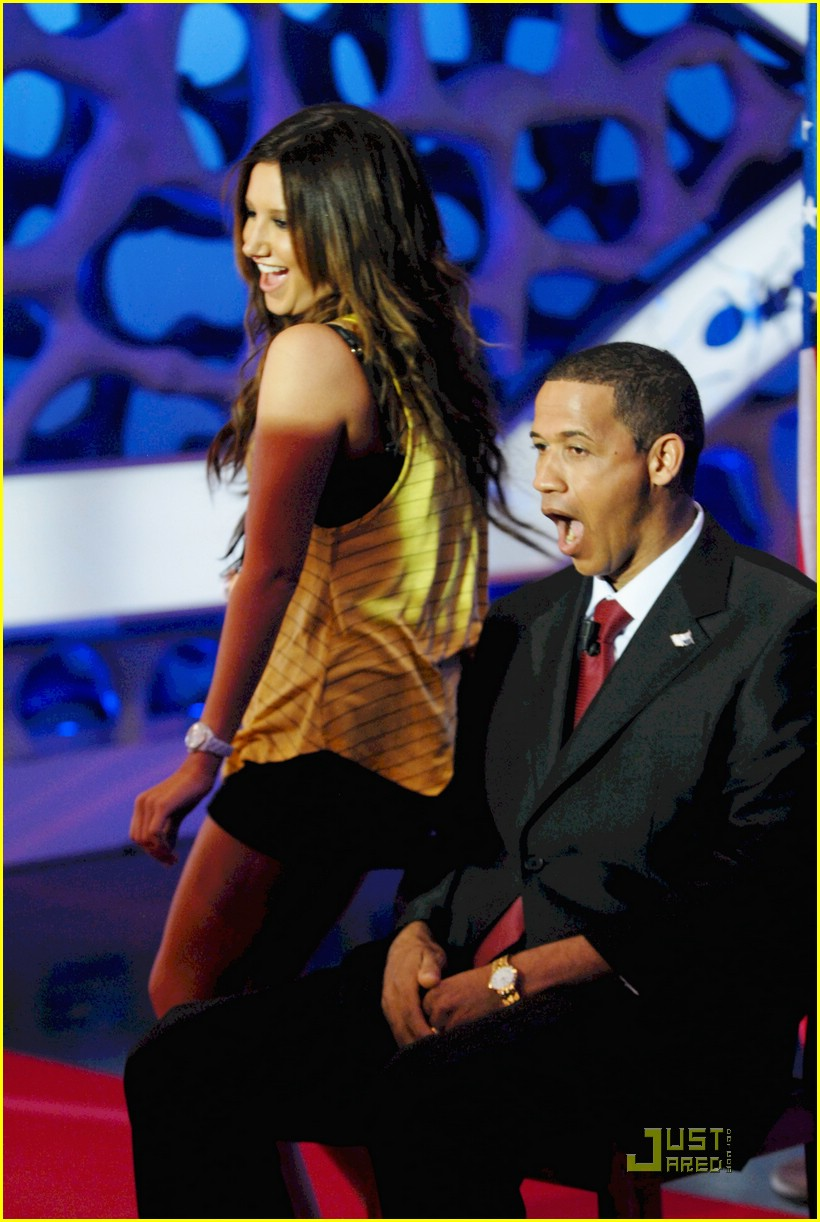 ashley tisdale obama dance 02