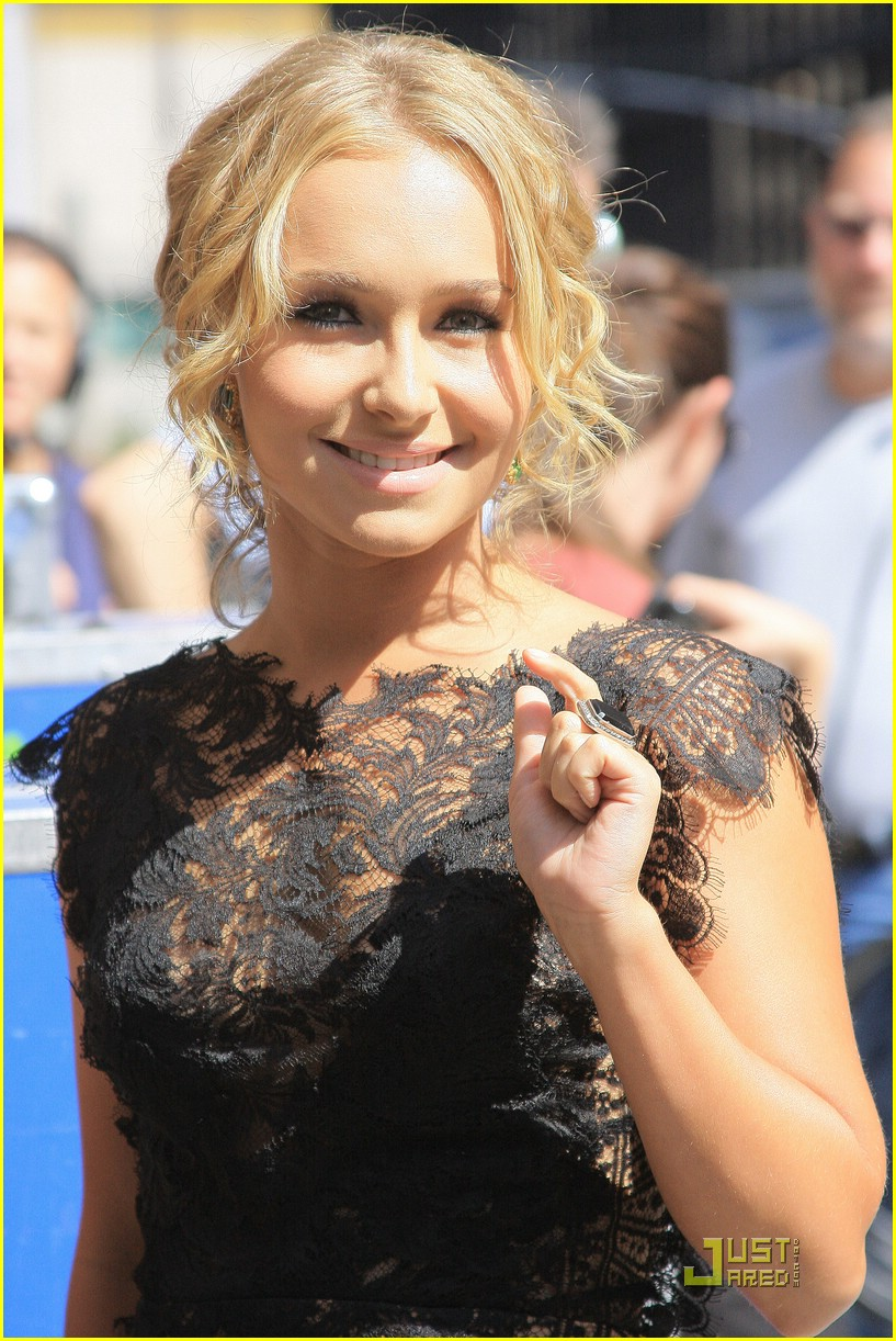 hayden panettiere lacy letterman 15