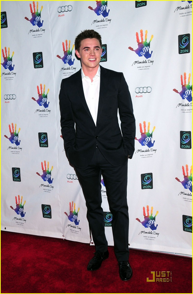 jesse mccartney mandela day 13