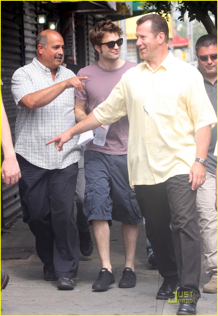 robert pattinson evian water 10