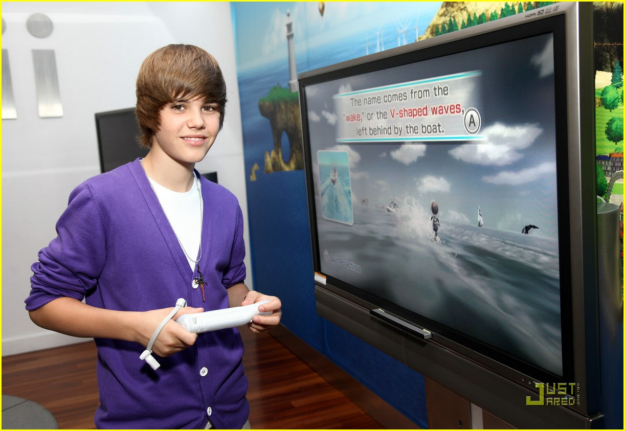 justin bieber nintendo store 05