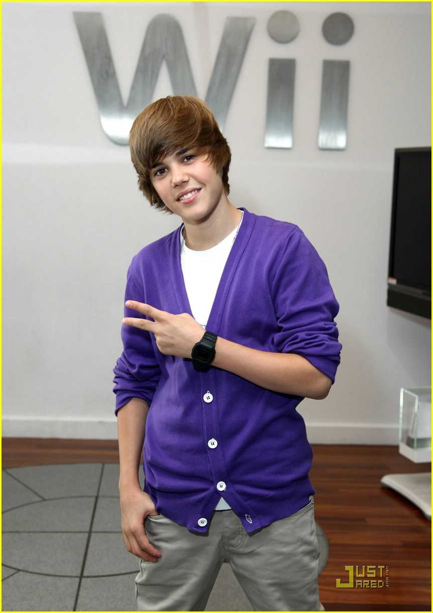 justin bieber nintendo store 23