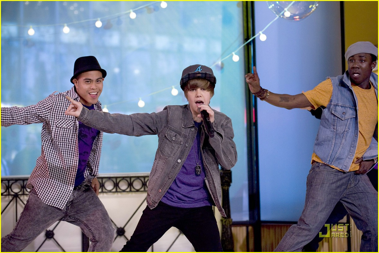 justin bieber gma sunday 14