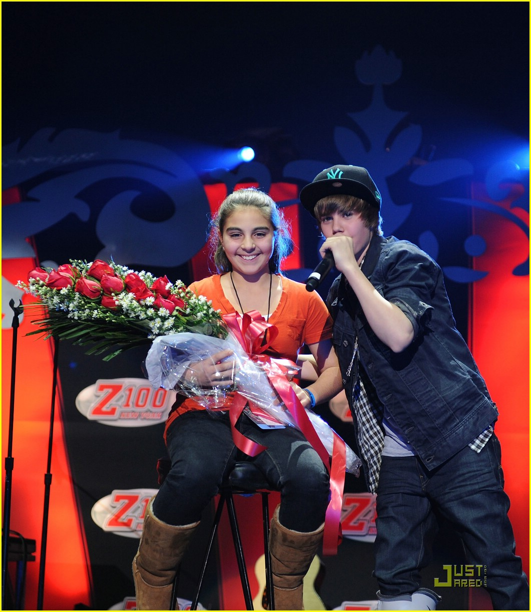 justin bieber jordin sparks jingle ball 03