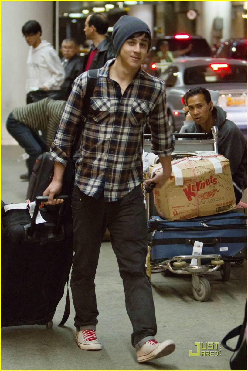 david henrie return lax 08