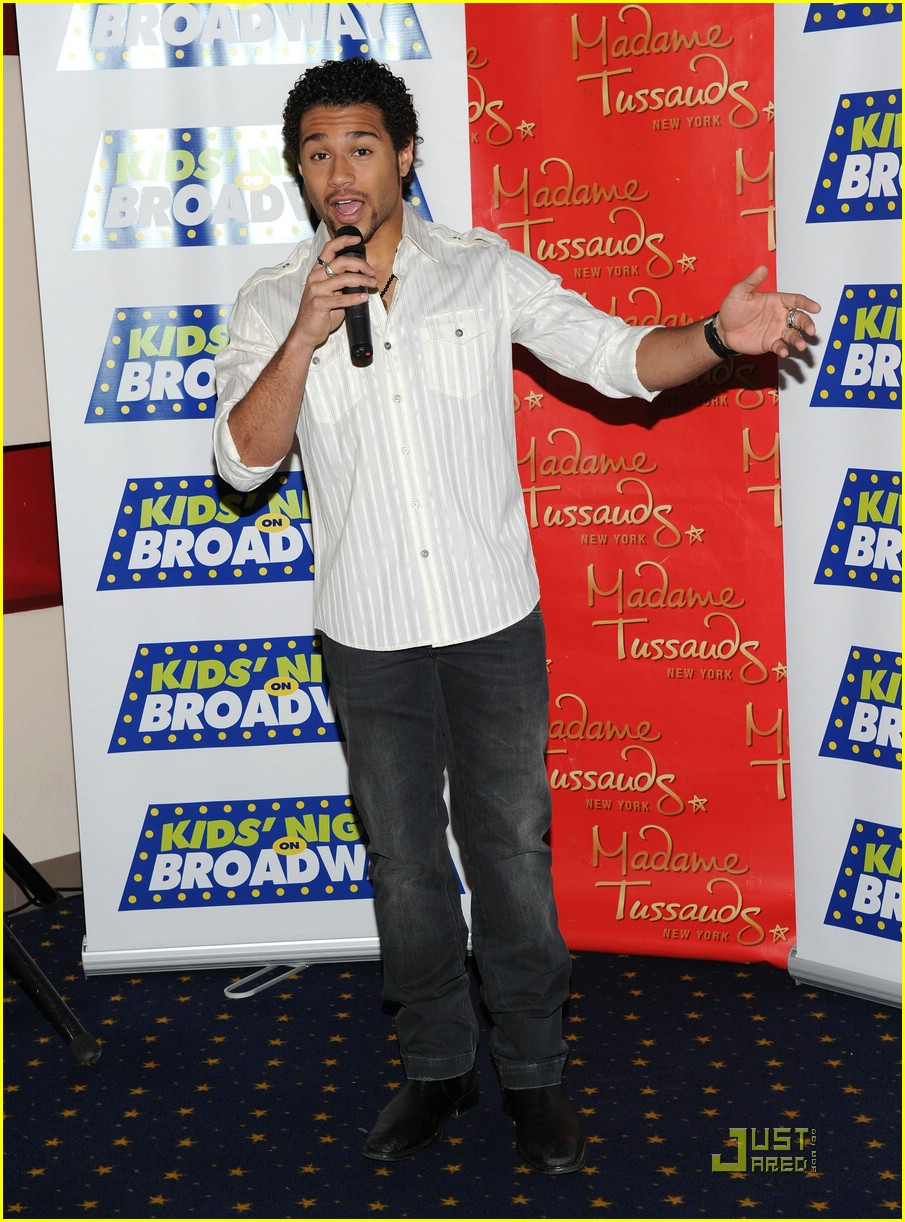 corbin bleu kids day broadway 29