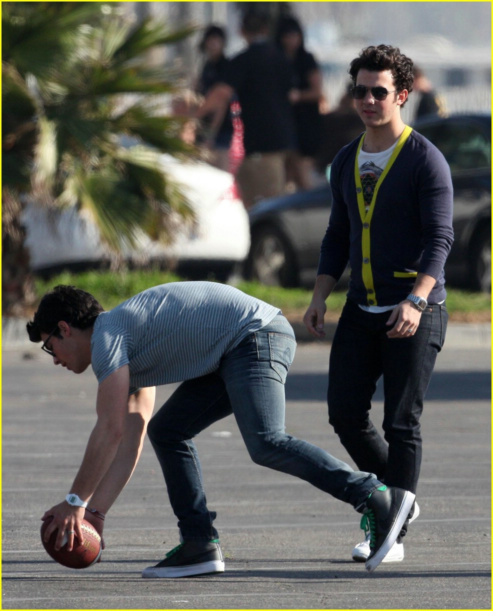 jonas brothers football set 08
