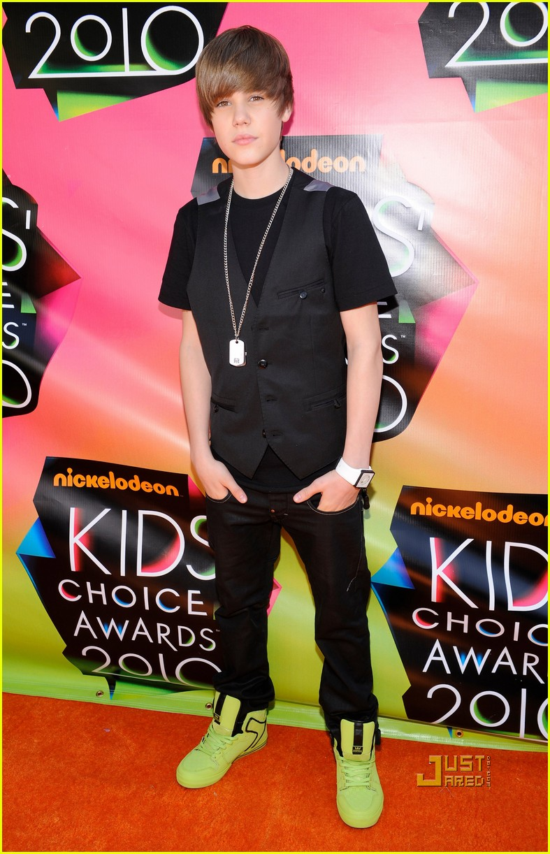 justin bieber kids choice awards 2010 02