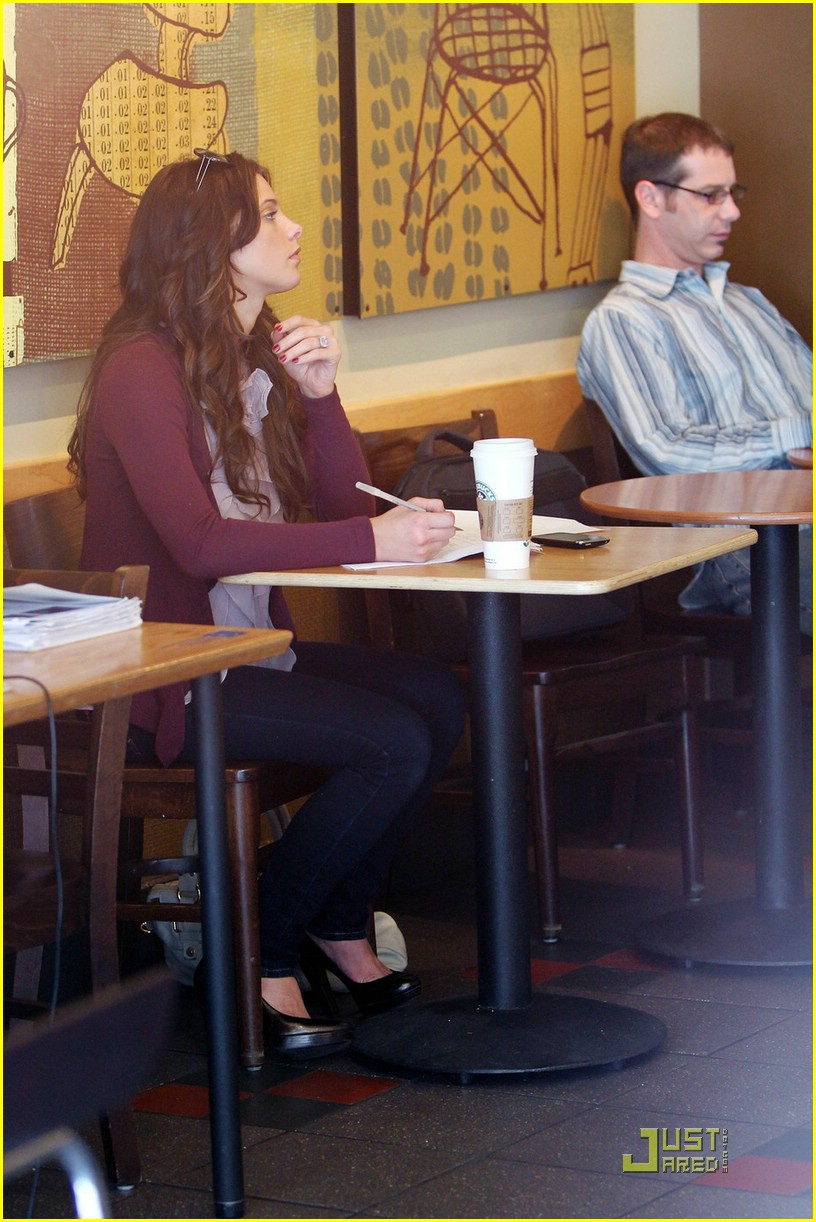 ashley greene starbucks study 09