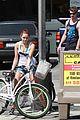 Liammiley-biking miley cyrus liam hemsworth biking 10