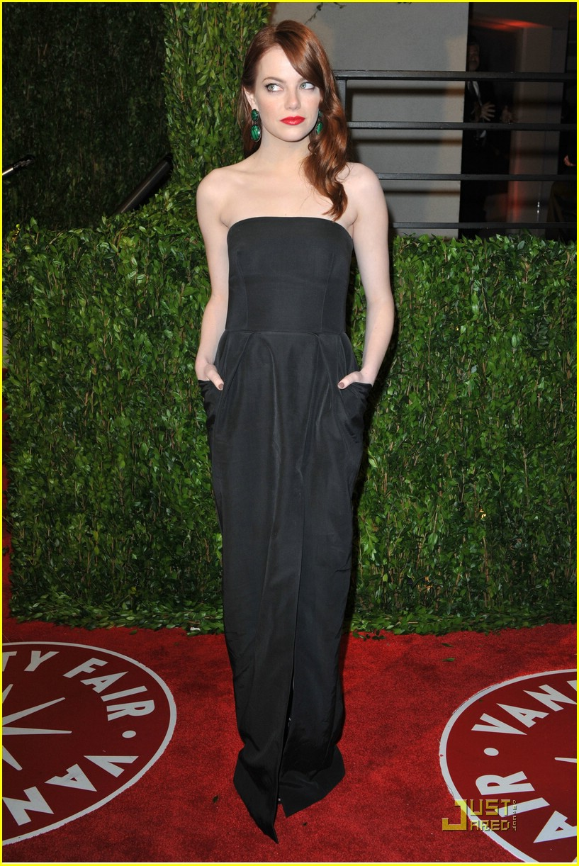 emma stone vanity fair party 07