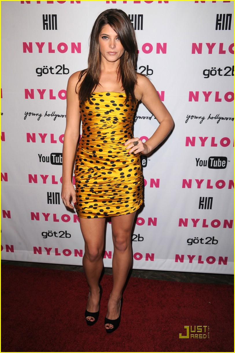 ashley greene nylon party 09