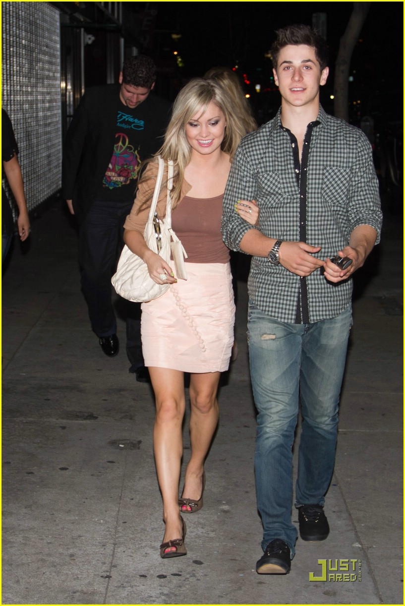 David Henrie with beautiful, Girlfriend Elle McLemore