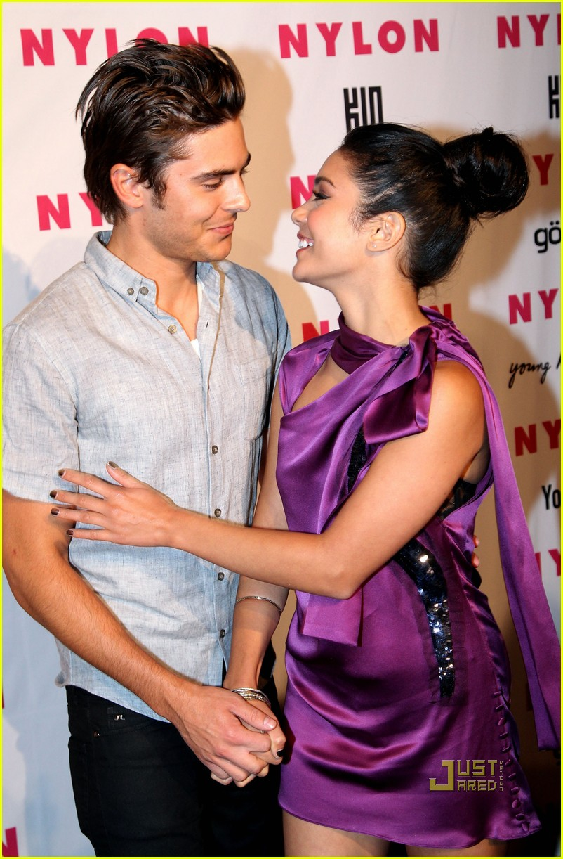 zac efron vanessa hudgens nylon party 01