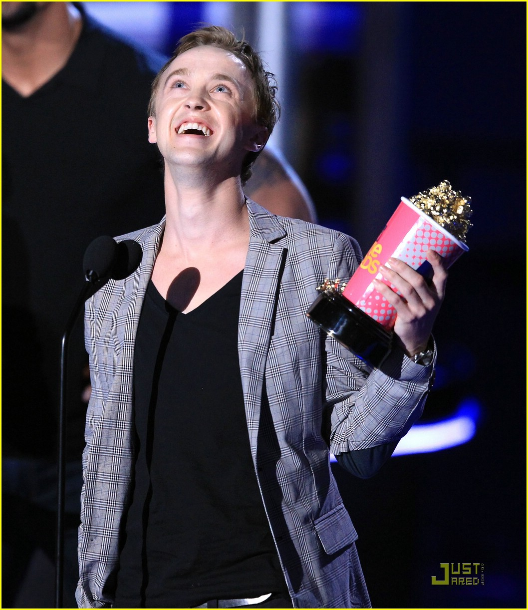 tom felton jade olivia mtv awards 09