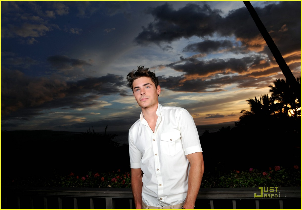 zac efron shining star award maui 12