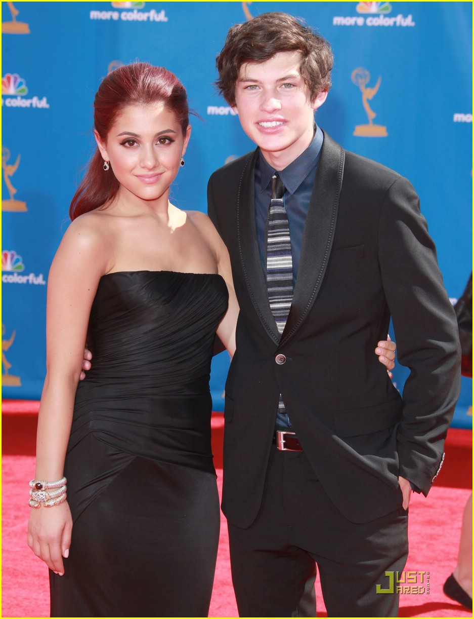 Ariana Grande & Graham Phillips: Emmy Date Night! | Photo ...