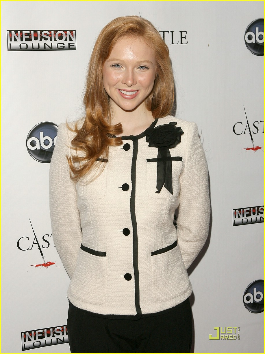 molly quinn castle premiere 09