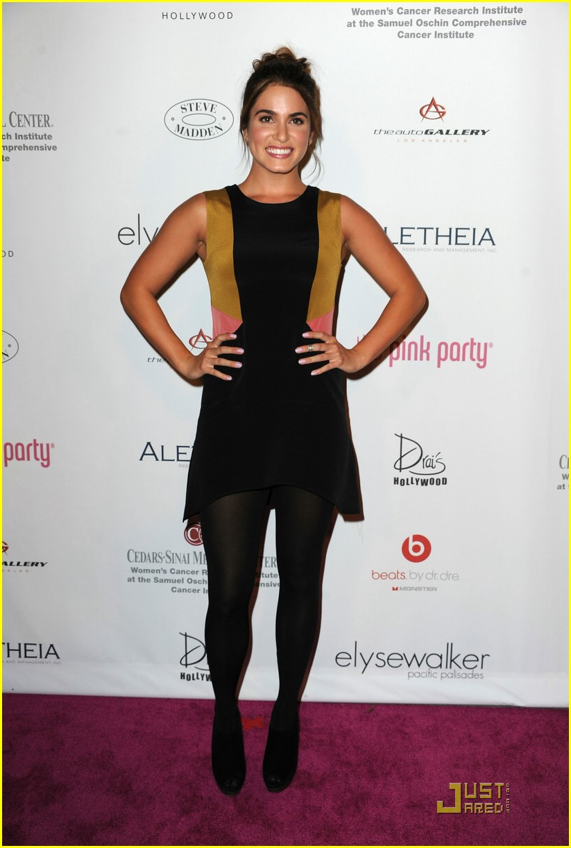nikki reed pink party 05