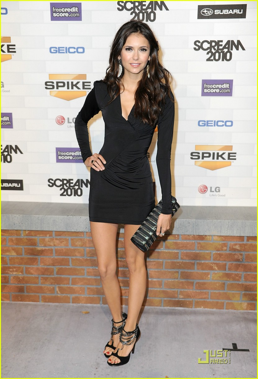 nina dobrev scream awards 21