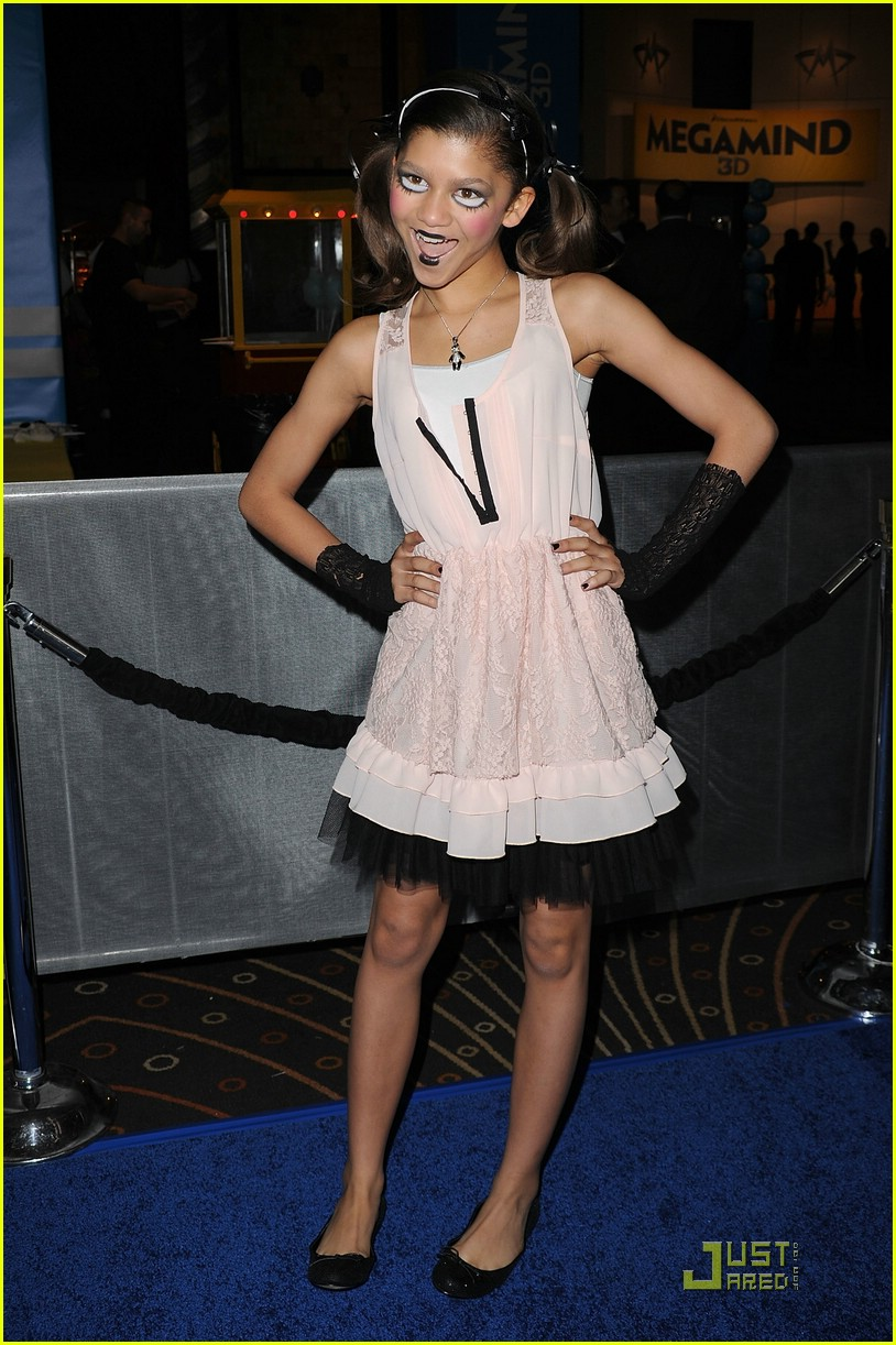 zendaya megamind premiere 01
