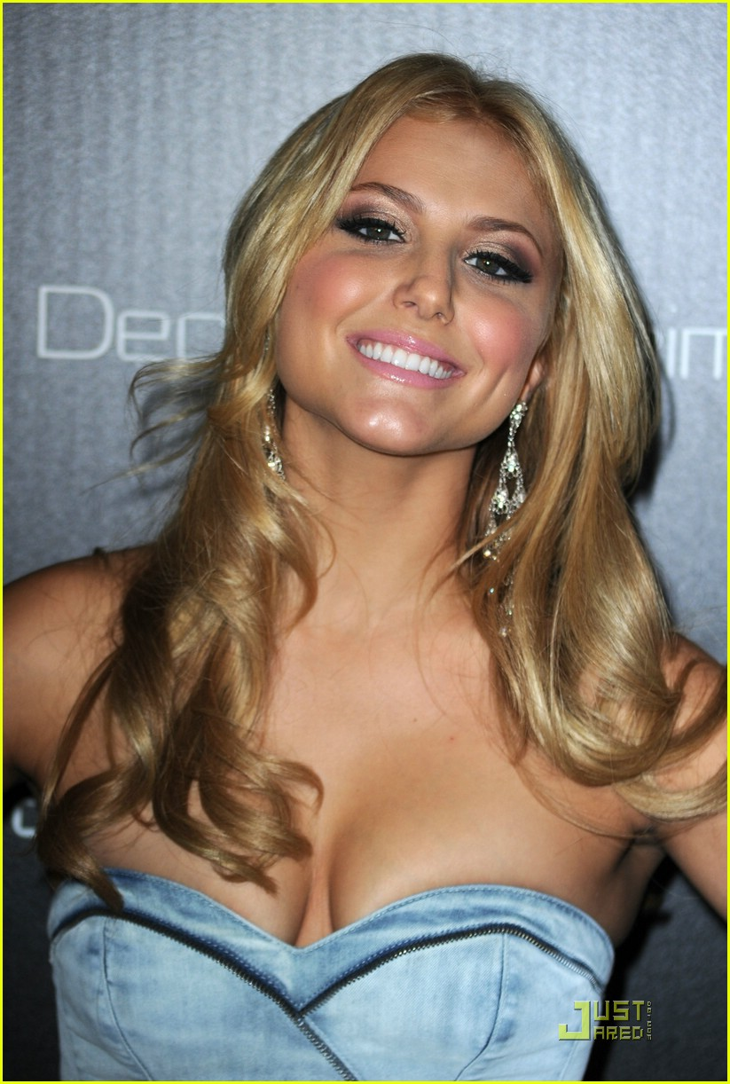 cassie scerbo denim party 04