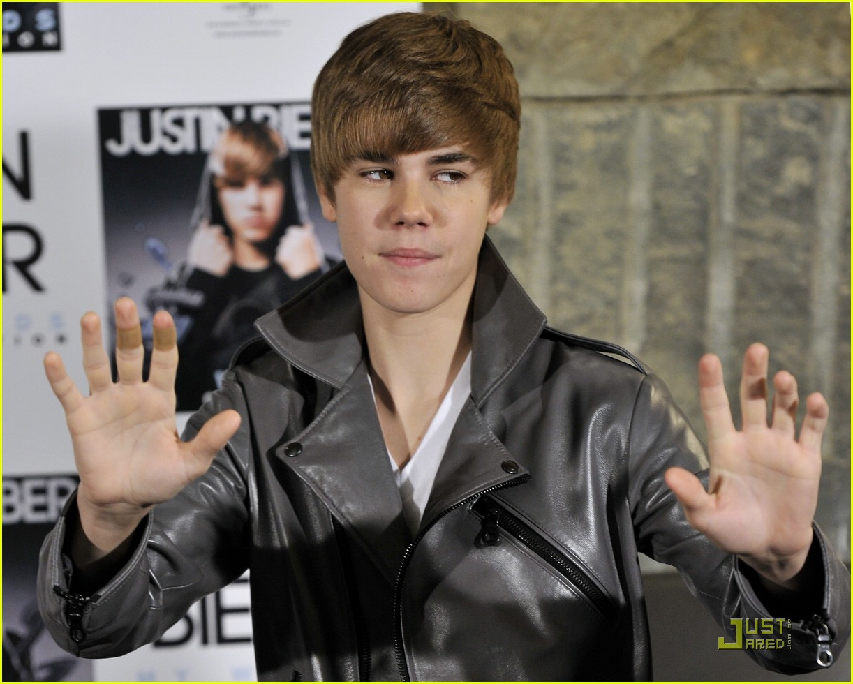 justin bieber madrid gold record 21