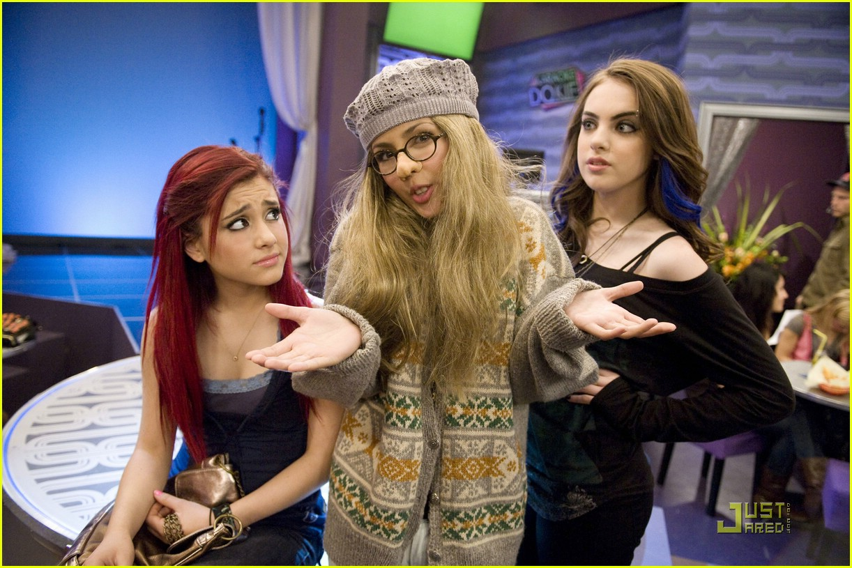 ariana grande elizabeth gillies give up 03