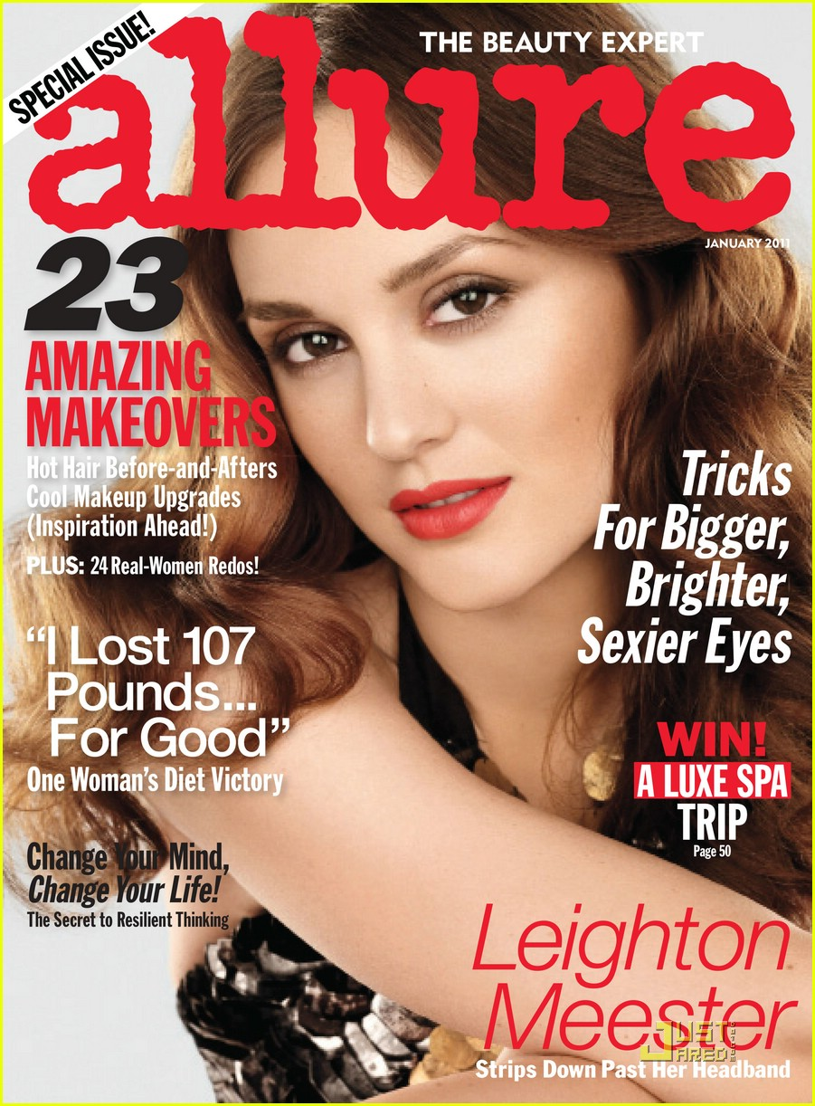 leighton meester allure january 02