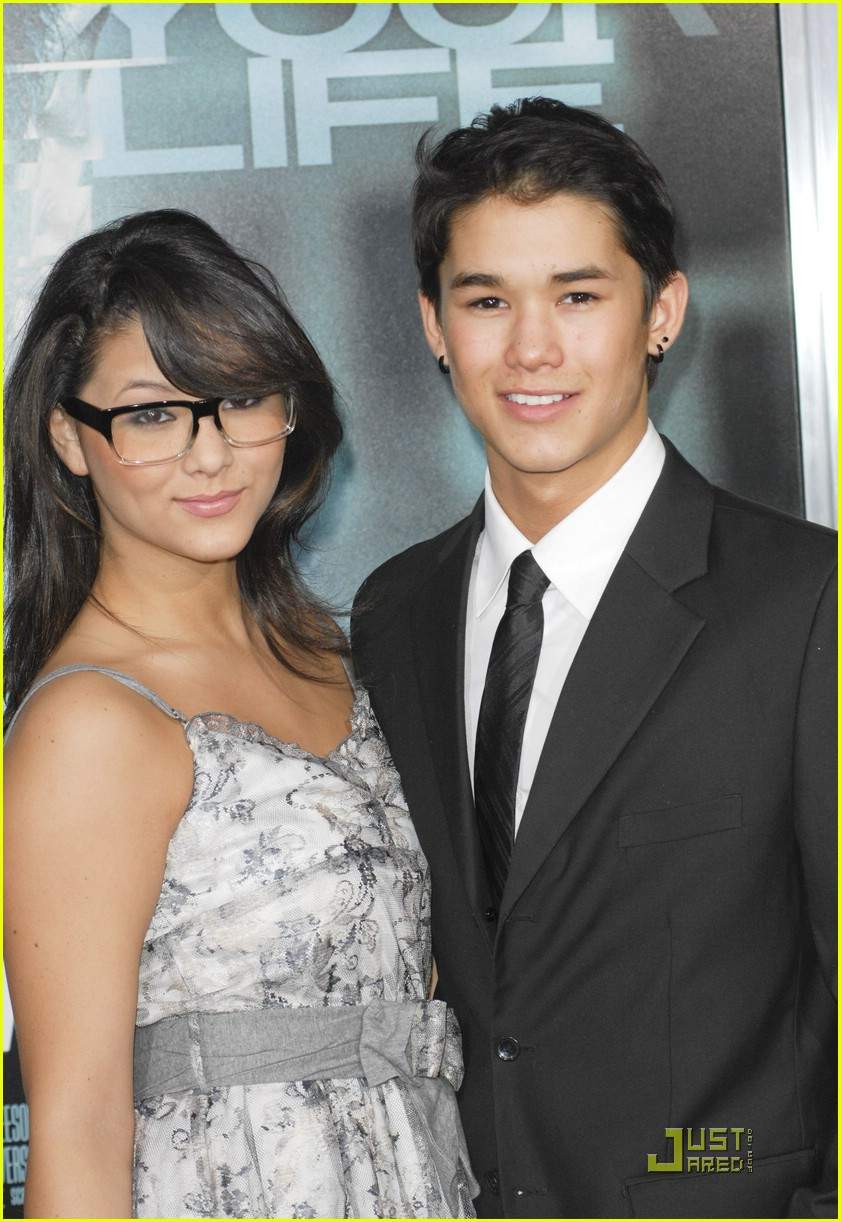 booboo stewart unknown premiere 12
